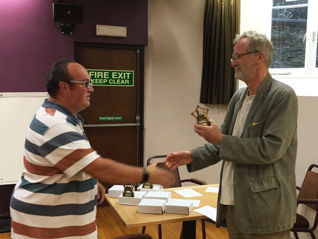 Ben Wilkinson (South Hams) was Division 2 Player of the Year.